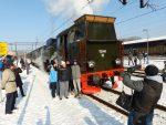 Pociąg muzealny w Kłodzku i Polanicy